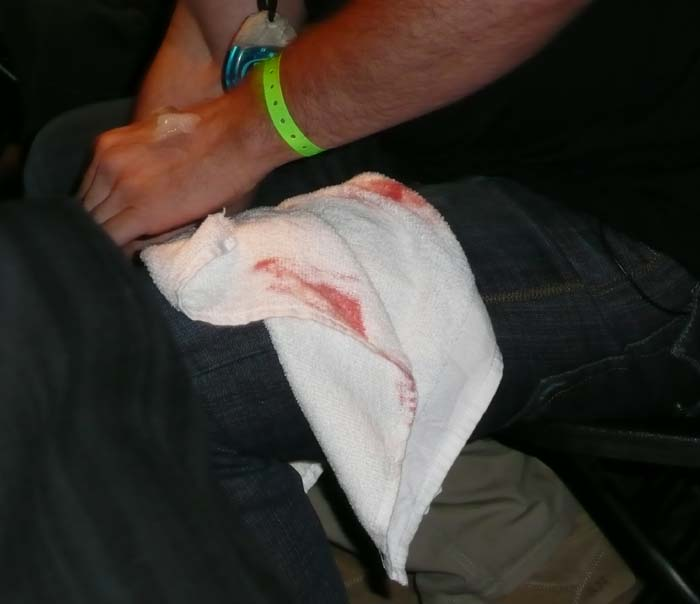Blood MMA