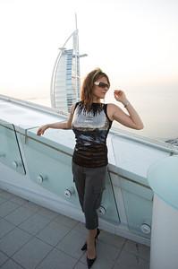 Roof top at Jumeirah Beach Hotel