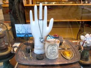 Modern Relic hand w jewelry
