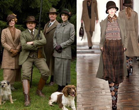 downtonabbeyralphlaurenfashionridinghuntingfashion
