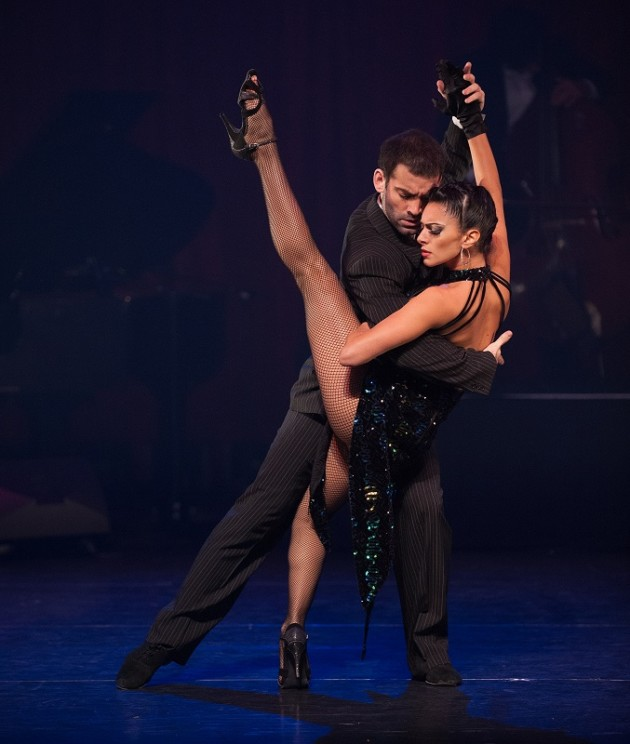 A Sizzling Dance Spectacular Heats up the New Year: Tango Fire