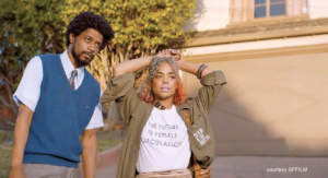 Sorry to Bother You, film still, SFFILM, san francisco international film festival, african american, fiction,