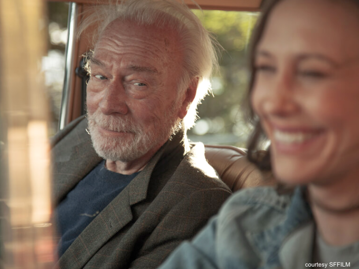 Boundaries, film review, SFFILM, Christopher Plummer, Peter Fonda, road trip,